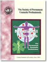Medical Issues Book for micropigmentation professionals